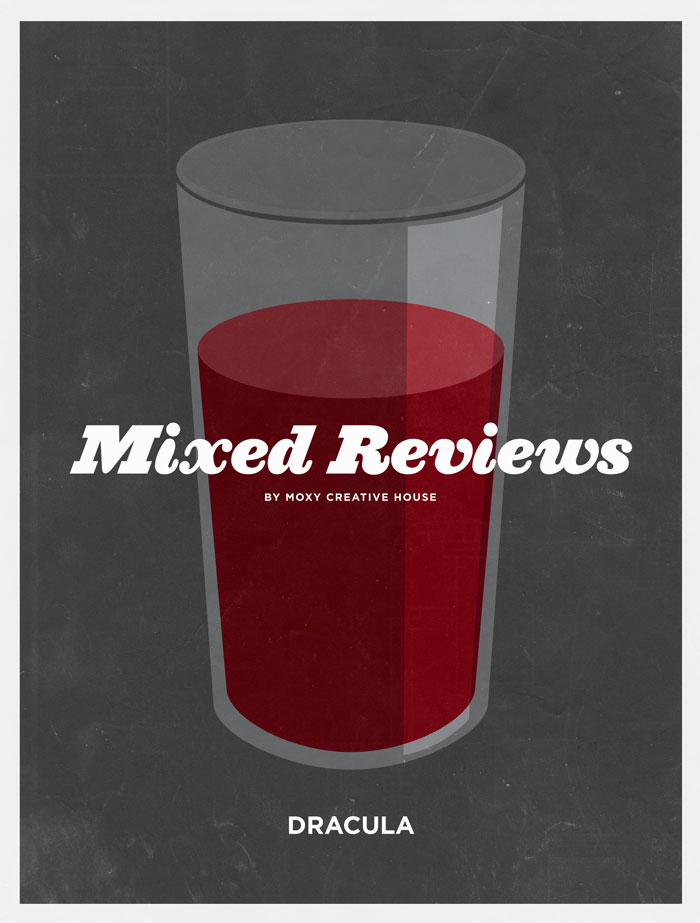mixedreviews dracula Mixed Reviews: 20 Classic Men's Movies Liquerated